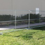 Chain Link Fencing Panel Panels Shown