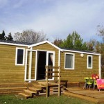 Chalet Pers New Mobile Home Rental Seaside Campsite Stars