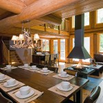 Chalet River Lodge Luxury Log Home