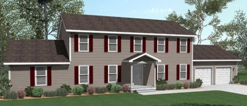 Charleston All American Homes Two Story Floorplan