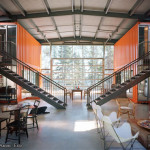 Check Out This Vacation Home Made Shipping Containers Follow The