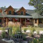 Chic Rustic Log Home