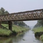 China Compact Prefabricated Steel Bailey Bridge For Temporary Use