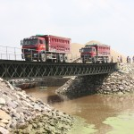 China Prefabricated Compact Portable Steel Bailey Bridge Design