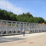 China Prefabricated Delta Assembly Steel Bridges Truss