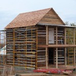 Chinking Log Timber Frame Infill And For Homes