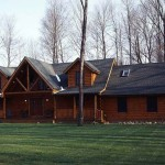 Classic Log Cabin Love First Sight Real Homes Loghome