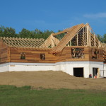 Cold Lake Cedar Log Home Project Update