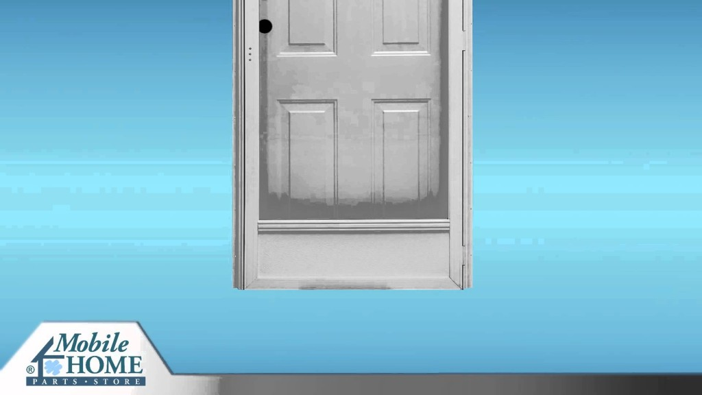 Combination Exterior Door Features Mobile Home Parts Store Youtube