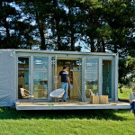 Compact And Sustainable Port Bach Shipping Container Holiday Home