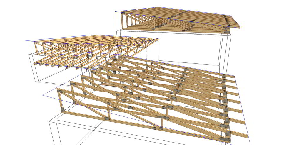 Complex Timber Trusses Truss Frame Construction Woodcon