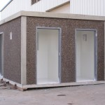 Concrete Prefabricated Utility Building Chlorinization