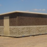 Concrete Prefabricated Water Park Utility Building Huffcutt