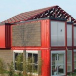 Conex Shipping Container Thread House Made Containers