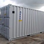 Container Conversions Air Compressor Unit Storage Containers