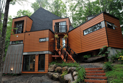 Container Home Building How Mansion The Woods
