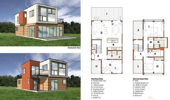 Container Home Plans Bloombety Interior Decoration And