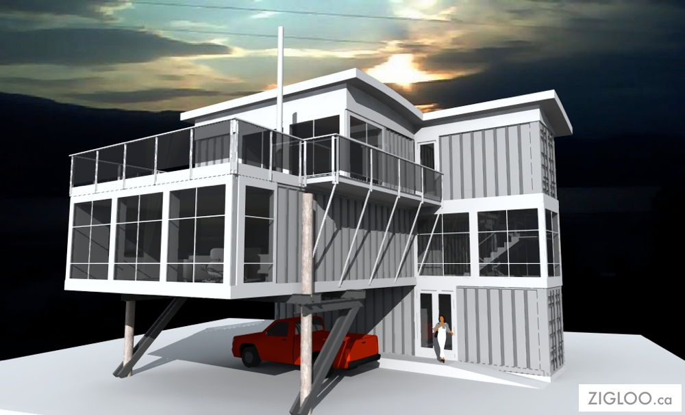 Container Homes Also Called Shipping Cargo