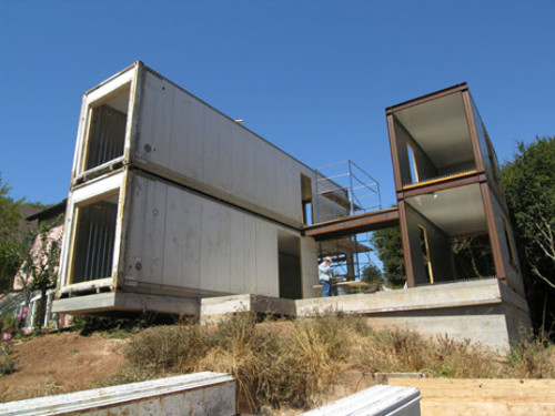Container House Prefab Lager Wanaselja Architecture Green Building