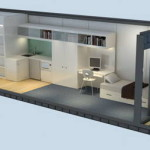 Container Houses Modified From Standard Sea And