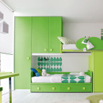Contemporary Green Bedroom Design Furniture