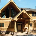 Conventional Construction Log Invite Wood Home Inc