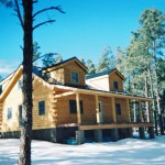 Coventry Log Home Dry Built Springerville