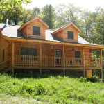 Coventry Log Homes Mansfield Floorplans Cabin