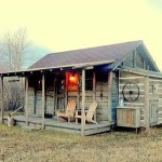 Cozy Cabin This Historic Small Home Plucked From Yellowstone National