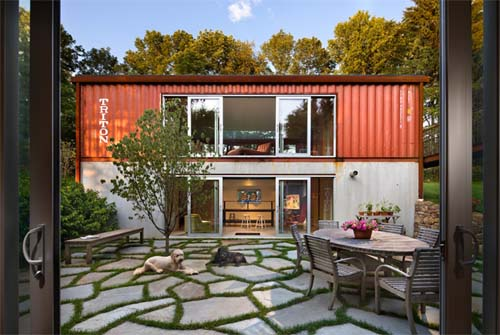 Cozy Container Homes Modern Day Houses Old Lady