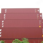 Cube Steel Storage Container Stack High Containers