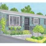Curb Appeal Hit Colour Welcomed Aluminum Siding
