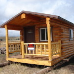 Custom Log Cabins Forester Ranch