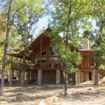Custom Log Home Hugo Lake For Sale Sawyer Oklahoma