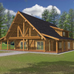 Custom Log Homes Throughout The West Virginia Features Our