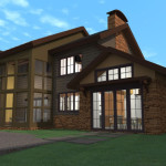 Custom Modular Home Southeast View Contemporary
