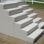 Custom Step Fiberglass Stairs