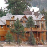 Custom Tower Features Gilligan Built Log Homes Artistically Enhance