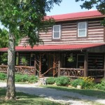 Cypress Log Home North Pope For