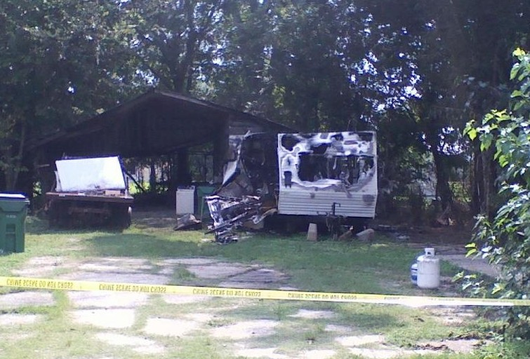 Dead Mobile Home Fire Katc Acadiana Lafayette Louisiana