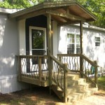 Decks And Porches The Mobile Home Woman