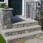 Decoration Concrete Prefab Stairs Outdoor Home Depot