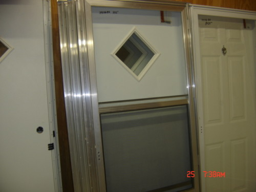 Diamond Window Combo Door Sizes