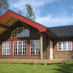 Different Log Cabins Chalets Homes Renovate France