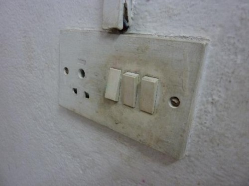 Dirty Light Switch Picture Pagoda Guest House Bhaktapur