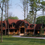Duck Bay Luxury Log Home Plan House Plans And More