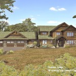 Dundee Lodge Log Home Plan Wisconsin Homes