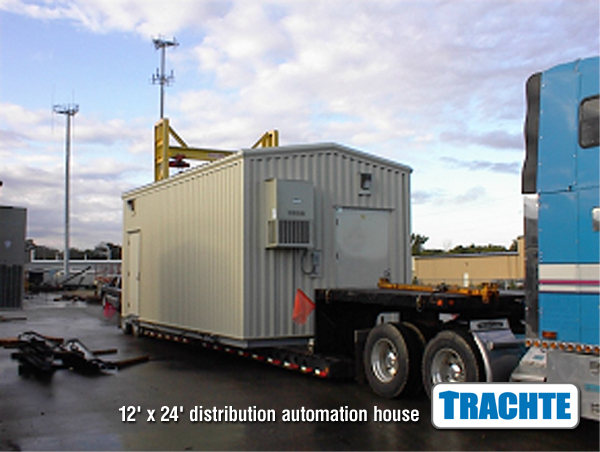 Electrical Distribution Prefabricated Building