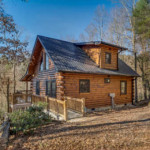 Ellijay North Georgia Mountain Log Cabins Homes For Sale