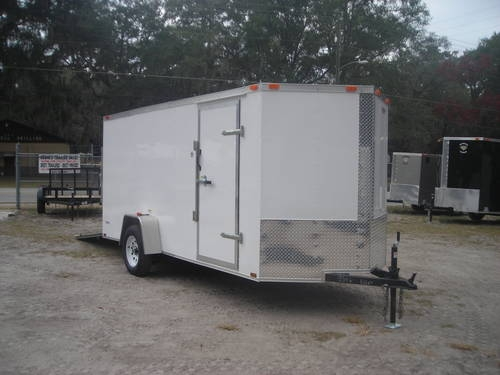 Enclosed Trailer New Ramp Nose Welaka Florida For Sale